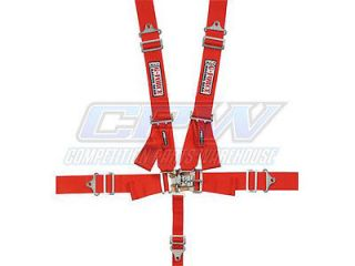 G Force Red Pro Series 5 Point Shoulder Harness Racing Seat Belts SFI 16 1