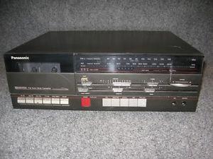Panasonic SG P100 Home Audio Full Auto Stop Cassette Player Am FM Radio Tuner