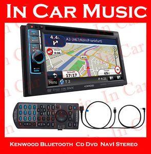 Kenwood DNX4210BT Bluetooth GPS Car Stereo Radio CD DVD MP3 iPod iPhone Player
