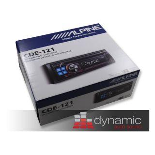 Alpine CDE 121 Car Stereo Radio CD  USB Player New