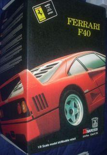 Pocher Ferrari F40 K55 Complete Kit Inventory Performed No Damaged Parts