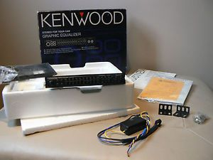 Kenwood Old School KGC 6042 Car Audio 9 Band Graphic Equalizer