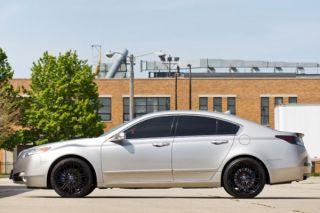 "20"" Cadillac cts Rohana RC20 Black Concave Wheels Rims"