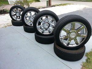 "22"" Cadillac Escalade Wheels Rims Tires Factory Original Chrome 22 Inch"
