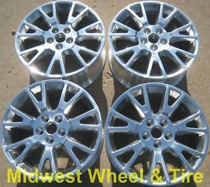 "Original 19"" Cadillac cts ATS XTS Wheels Rims Factory Stock 4671 Set"