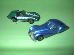 Lot 2 Hot Wheels 1987 Tabot Lago Matchbox 1979 Corvette