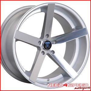 "20"" Acura TL Rohana RC22 Deep Concave Silver Wheels Rims"