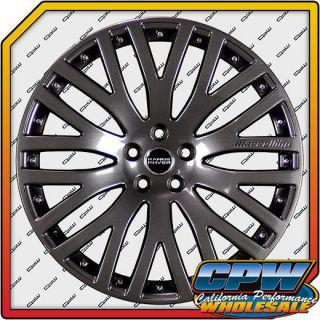 Range Rover Titanium Wheels Rims New Finish Kustom Marcellino