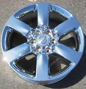"""Exchange Your Stock 4 New 20"""" Factory Nissan Titan Armada Chrome Wheels Rims"""