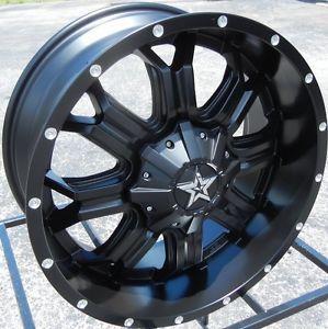 """20x9"""" Tis 535B Black Wheels Rims Chevy Silverado GMC 1500 Ford F 150 Expedition"""