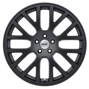 "20"" TSW Donington Black Wheels Rims Fit Audi A4 A5 A6 A7 A8 Q5 RS4 RS6 S4 S5"