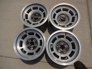 "15x8"" C3 Corvette Aluminum Wheels 1976 82"