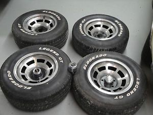1976 1979 Corvette Factory Aluminum Wheels Tires