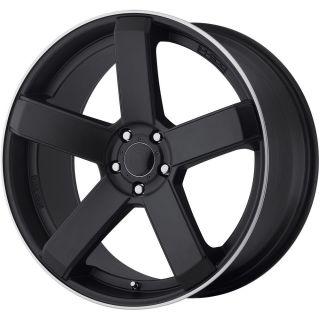 "20"" Black Dropstars 644 Wheels Rims Magnum Charger Challenger Chrysler 300C BMW"