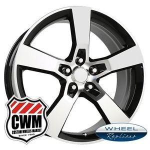 "20x8"" 20x9"" 2010 Camaro SS Black Machined Staggered Wheels Rims for Camaro 2013"