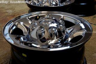"2014 Dodge RAM 3500 Factory 18"" Steel Chrome Wheels 2500 Like New"