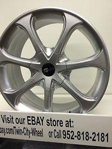 17 inch Silver Raceline Wheels Rims Scion IQ XA XB Toyota Prius C MR2 Eco