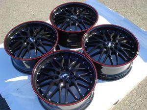 17 Mini Cooper s Scion XB XA Yaris Daewoo Lanos Spectra 4 Lug Racing Rims Wheels