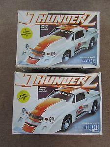 MPC Thunder Z Camaro Street Machine Model Kit Parts Lot 1 0821 Chevrolet Golden
