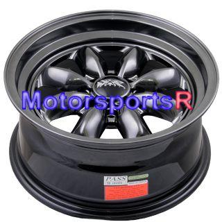 15 7 XXR 513 Chromium Black Rims Wheels Deep Dish Step Lip 4x100 03 06 Scion XB