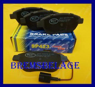 Bremsbeläge Fiat 500 Bravo Idea Multipla 186 Stilo Lancia Musa JTD 1998 VA 423