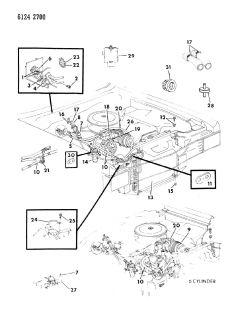 Gasket A C Discharge Line Chrysler Dodge Plymouth 89 95 MOPAR03846835 Lots of 10