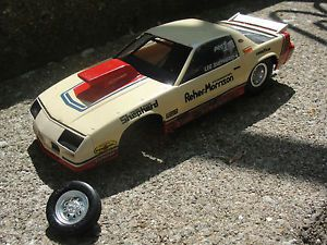 Reher Morrison Pro Stock Camaro Vintage Built Project Parts Diorama