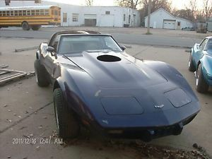 1979 Corvette Parts Car Body and Frame for Parts Project Restor 68 82