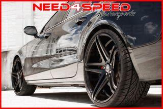 """20"""" XO Caracas Matte Black Concave Wheels Rims for Land Rover Range Rover Evoque"""