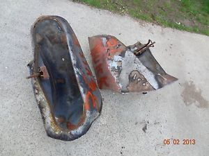 1936 1937 1938 Buick Side Mount Tire Wheel Well Fenders Parts 40 Series