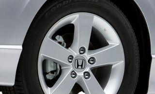"Honda ""H"" Center Cap Wheel Cover Silver for Most Honda Wheel Rim 1x"