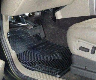 Husky Liner Heavy Duty Floor Mats Cadillac Chevy GMC Hummer SUV Truck 51031 Blk