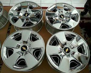 "20"" Factory Chevy Tahoe LTZ Silverado Wheels Rims Yukon GMC 22 18"