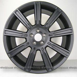 "20"" 20x9 5 Range Rover Evoque Wheels Rims 5x108 Matte Black 4 New"