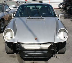 Porsche 911 964 1991 C4 Chassis Project Car Rolling Shell Parts Body C4