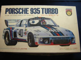 1 20 Scale Fujimi 935 Porsche Turbo Parts Lot