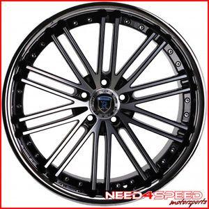 "20"" Mercedes Benz R129 SL500 SL600 SL Rohana RC20 Concave Machined Wheels Rims"