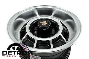 Buick Grand National Factory Wheel Rim BUICKGN15X10 Machined Black 1982 1988