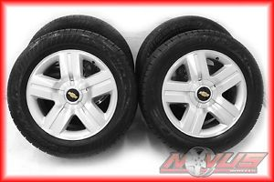 "20"" Chevy Silverado LTZ Tahoe GMC Yukon Sierra Aluminum Wheels Tires 22"