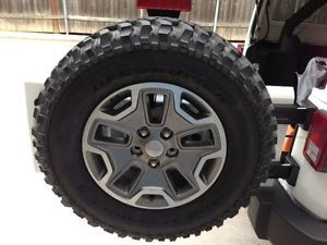 Jeep 2013 JK Rubicon Wheels BFG Mud Terrains All Stock