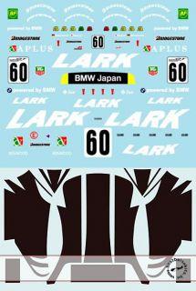 1 18 Team Lark Full Decal McLaren F1 GTR GT Championship for Minichamps