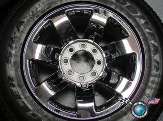 Five 08 09 Hummer Factory 20 Chrome Wheels Tires Rims 6310 9596680 Sensors