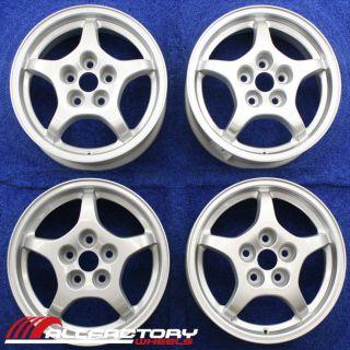 "Mitsubishi Eclipse 16"" 1997 1998 1999 Factory Wheels Rims Set 4 Silver 65751"