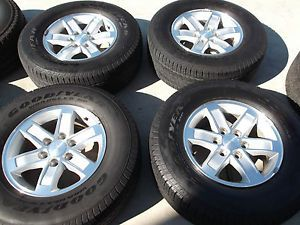 "17"" GMC Sierra Wheels Tires Rims Yukon Denali Chevy Silverado Tahoe 5296"