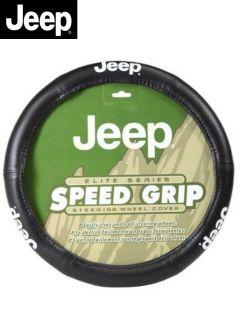 Jeep Elite Mopar Premium Steering Wheel Cover Universal Fit Fast Shipping