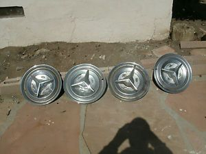 1956 Oldsmobile 88 Hubcaps Rat Rod Hot Parts