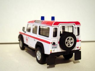 Land Rover Defender CRI 1 43 Scale Model Cararama