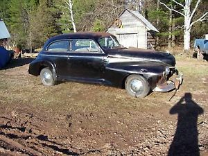1941 Oldsmobile 66 Two Door Sedan Parts Project Runs Street Rod Rat Rod RARE