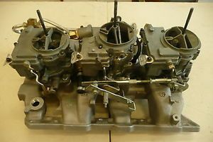 66 Pontiac GTO Rochester Carburetor Tri Power System New and Reconditioned Parts