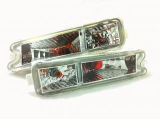 Crystal Front Bumper Light Lamp Mitsubishi L200 Strada Animal 1995 2004